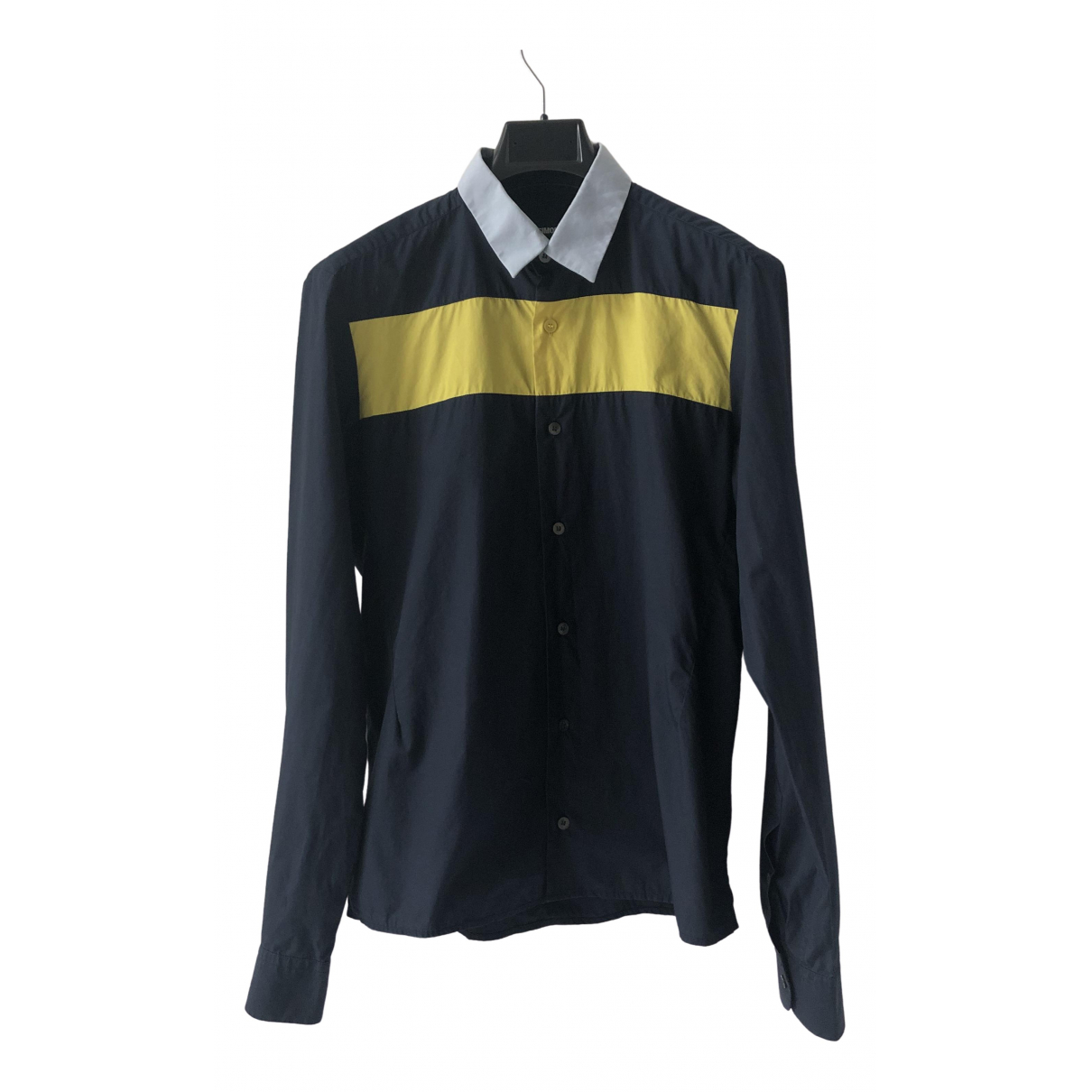 Raf Simons - Chemises   pour homme en coton - marine