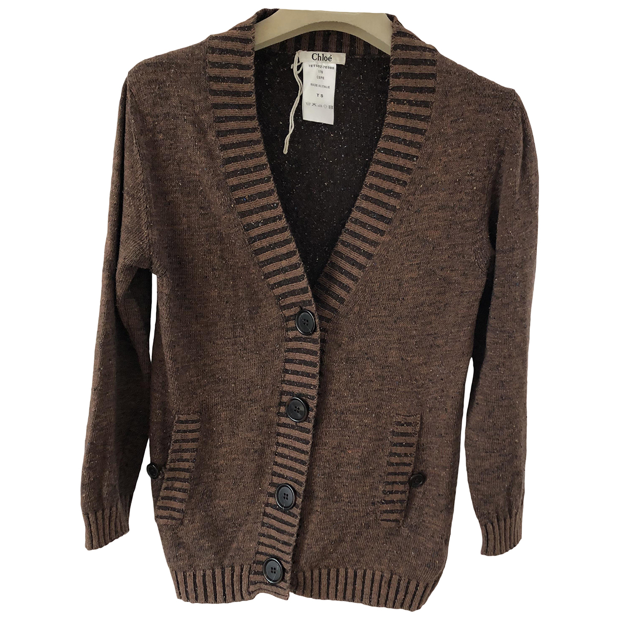 Chloé N Brown Cotton Knitwear for Women S International