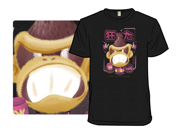 Crazy Kong T Shirt