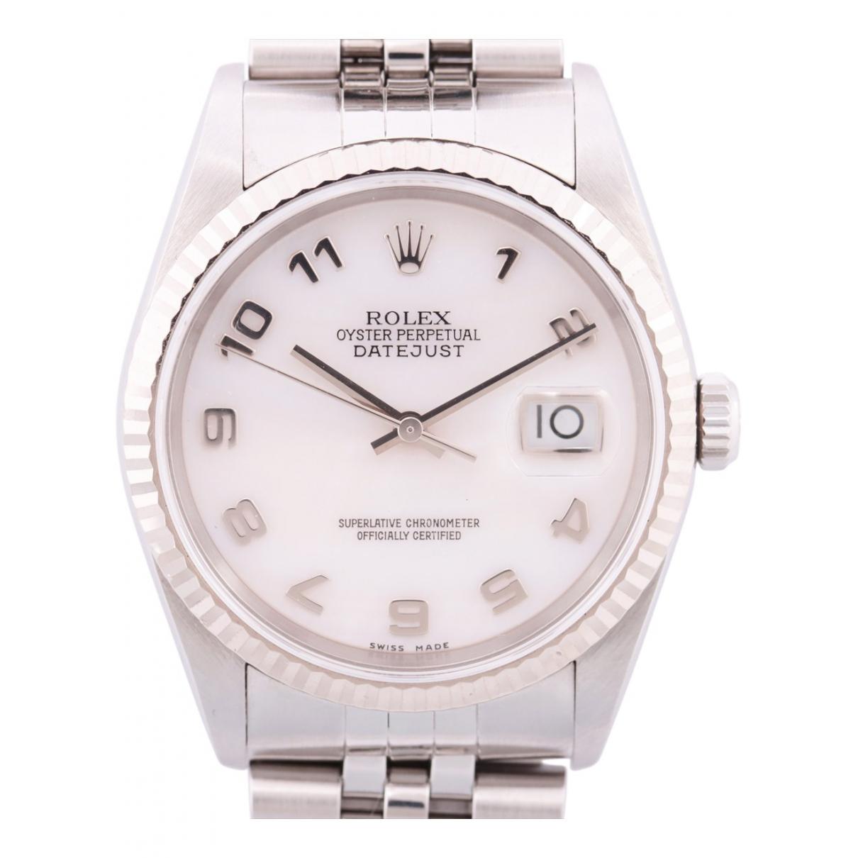 Rolex - Montre Datejust 31mm pour femme en or et acier