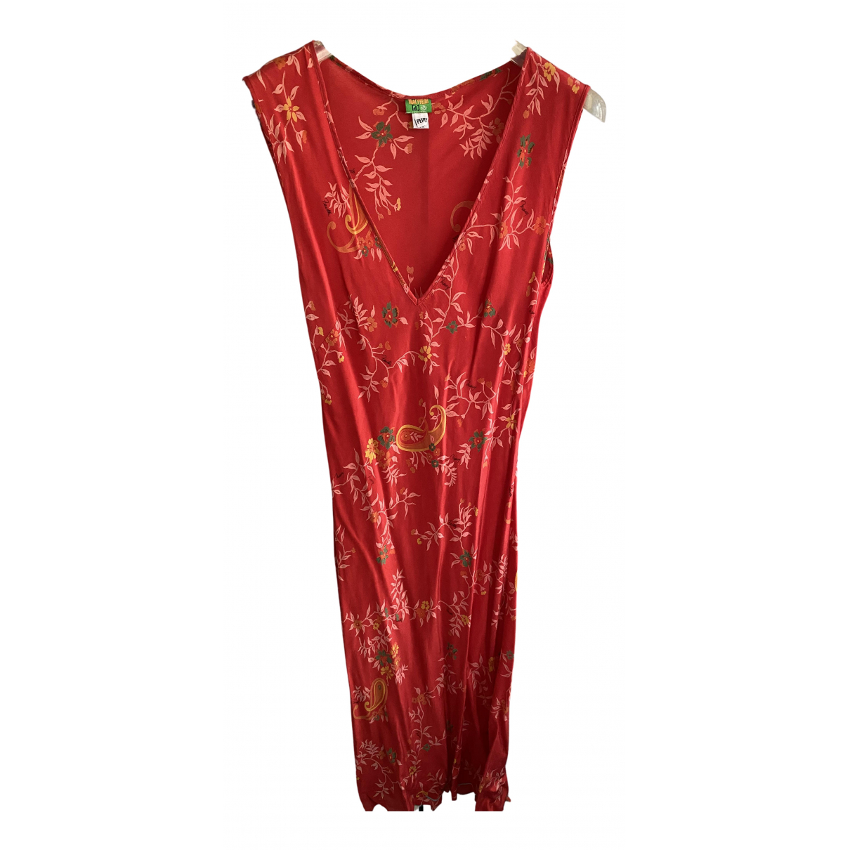 Tracy Feith N Red Silk dress for Women XS International