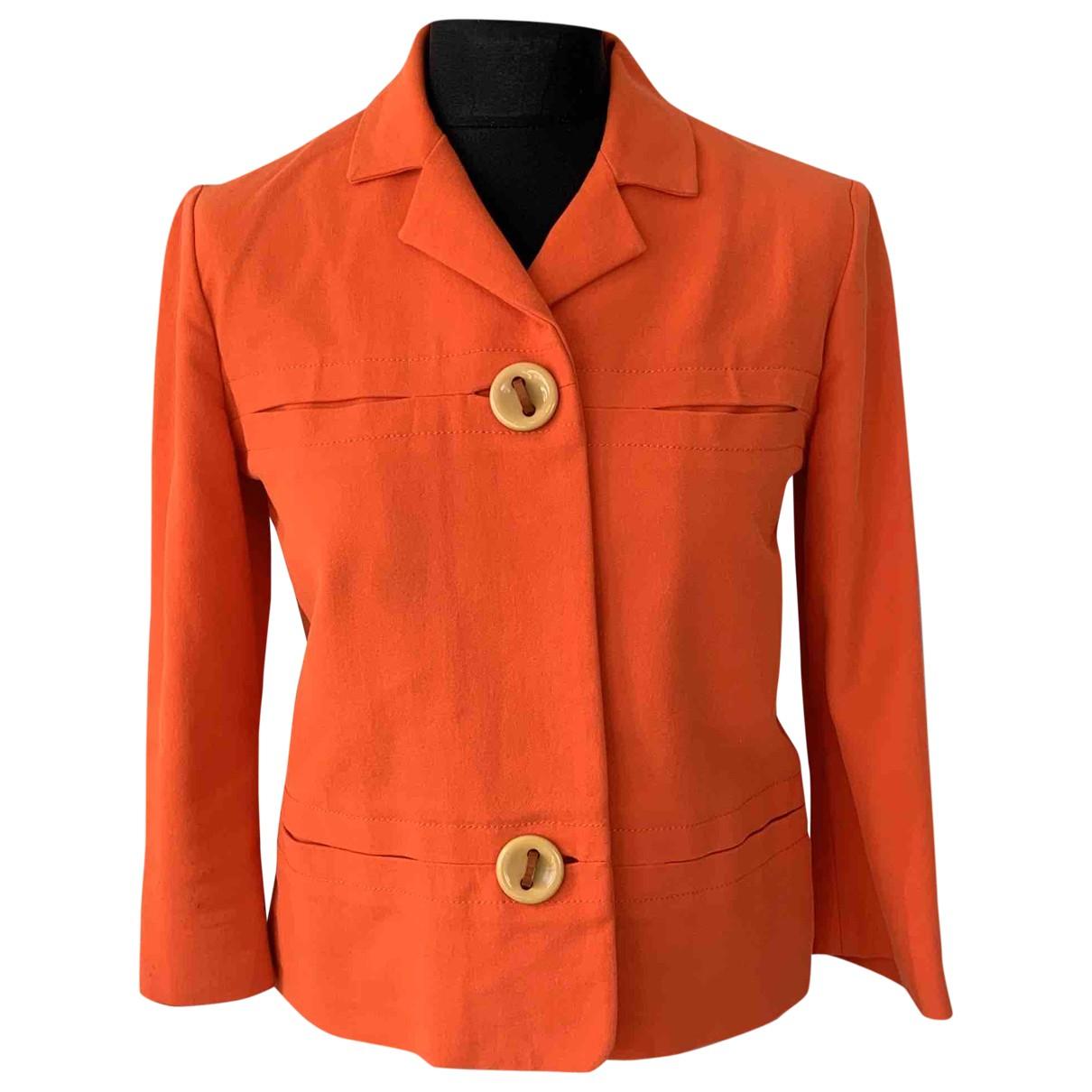 Marni - Veste   pour femme en coton - rouge