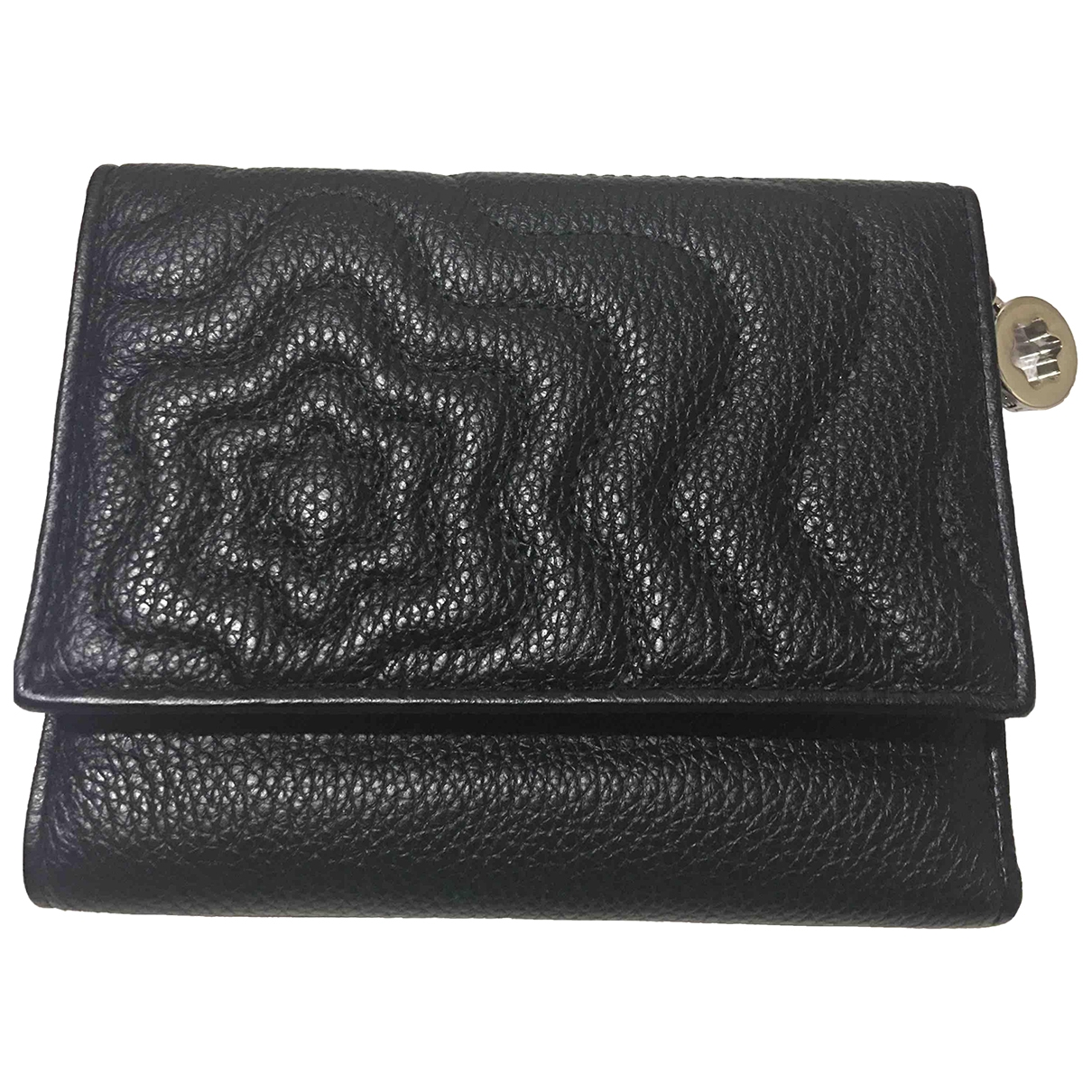 Montblanc \N Black Leather wallet for Women \N