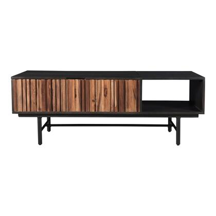 Jackson Collection RP-1006-02 Coffee Table with Iron Legs in Black