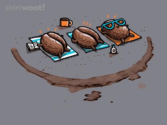 Roasted Coffee T Shirt