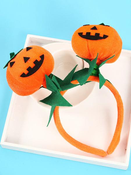 Milanoo Pumpkin Headband Halloween Birthday Party Gift Costume Accessories