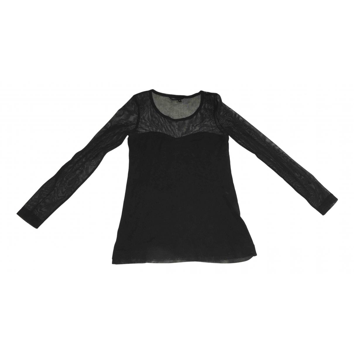 Marc By Marc Jacobs - Top   pour femme en coton - noir