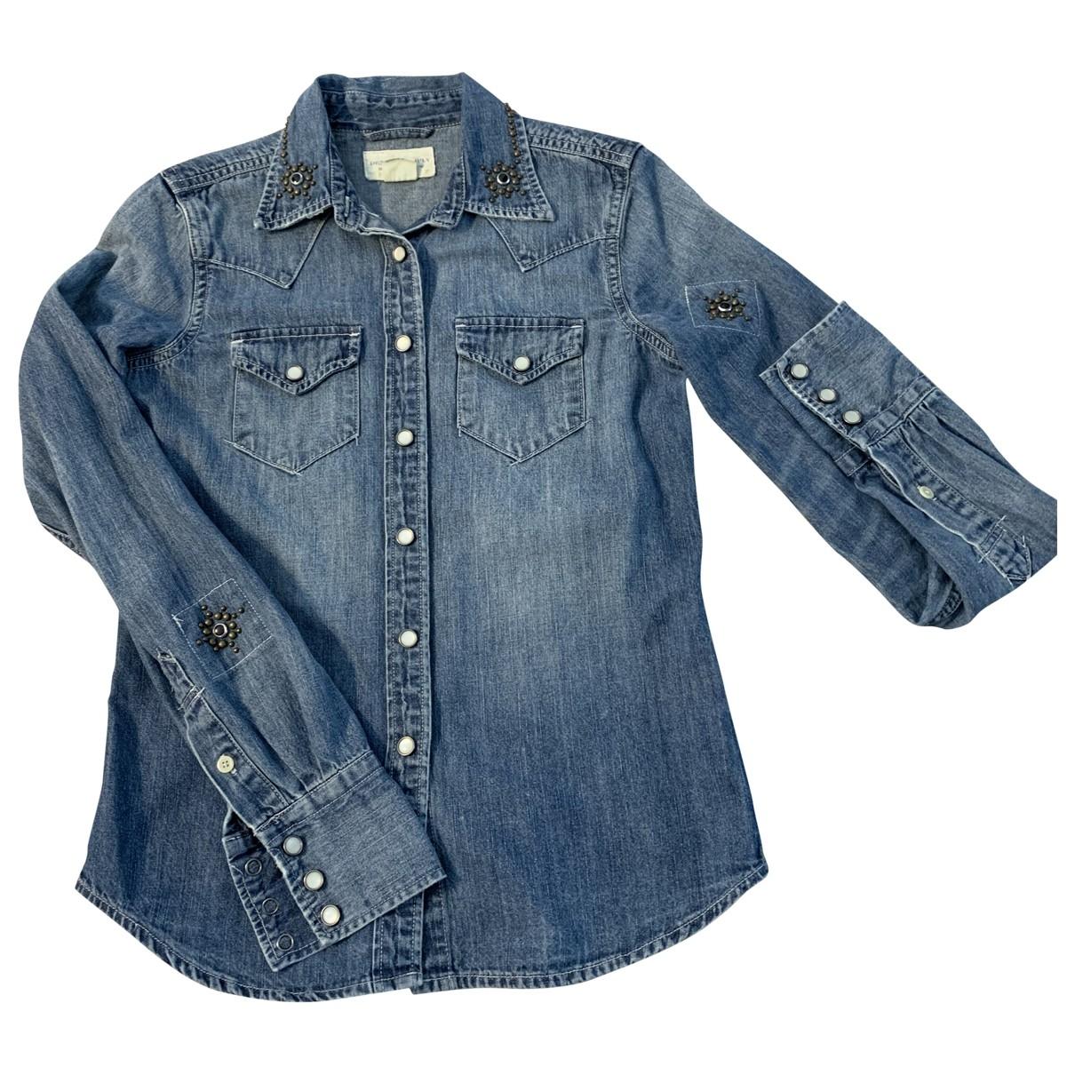 Ralph Lauren Denim & Supply \N Blue Denim - Jeans Shorts for Women XS International