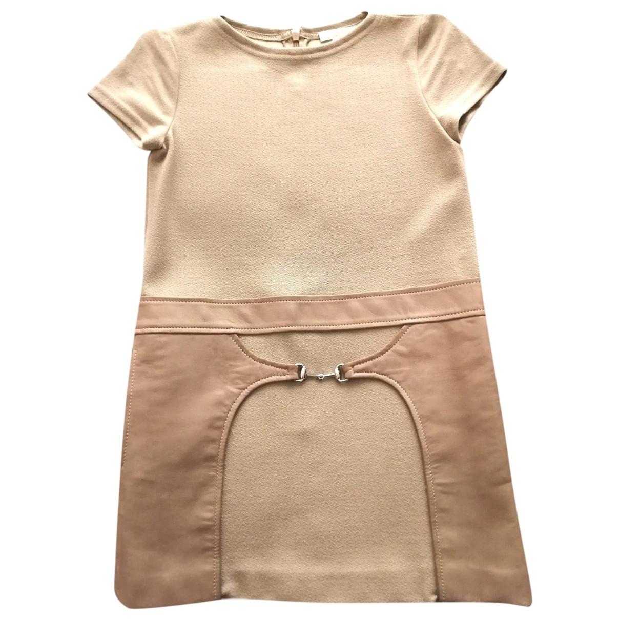 Gucci - Robe    pour enfant - camel