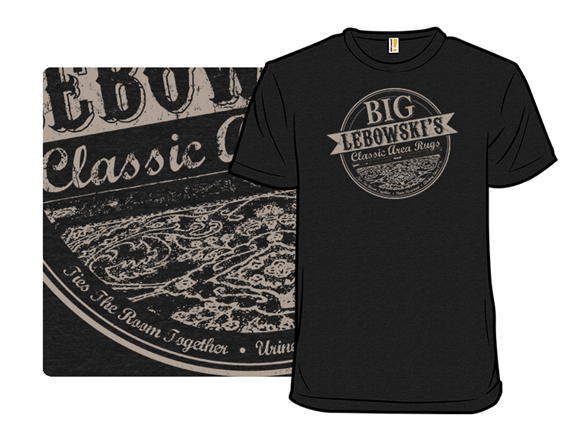 Lebowski's Classic Rug T Shirt