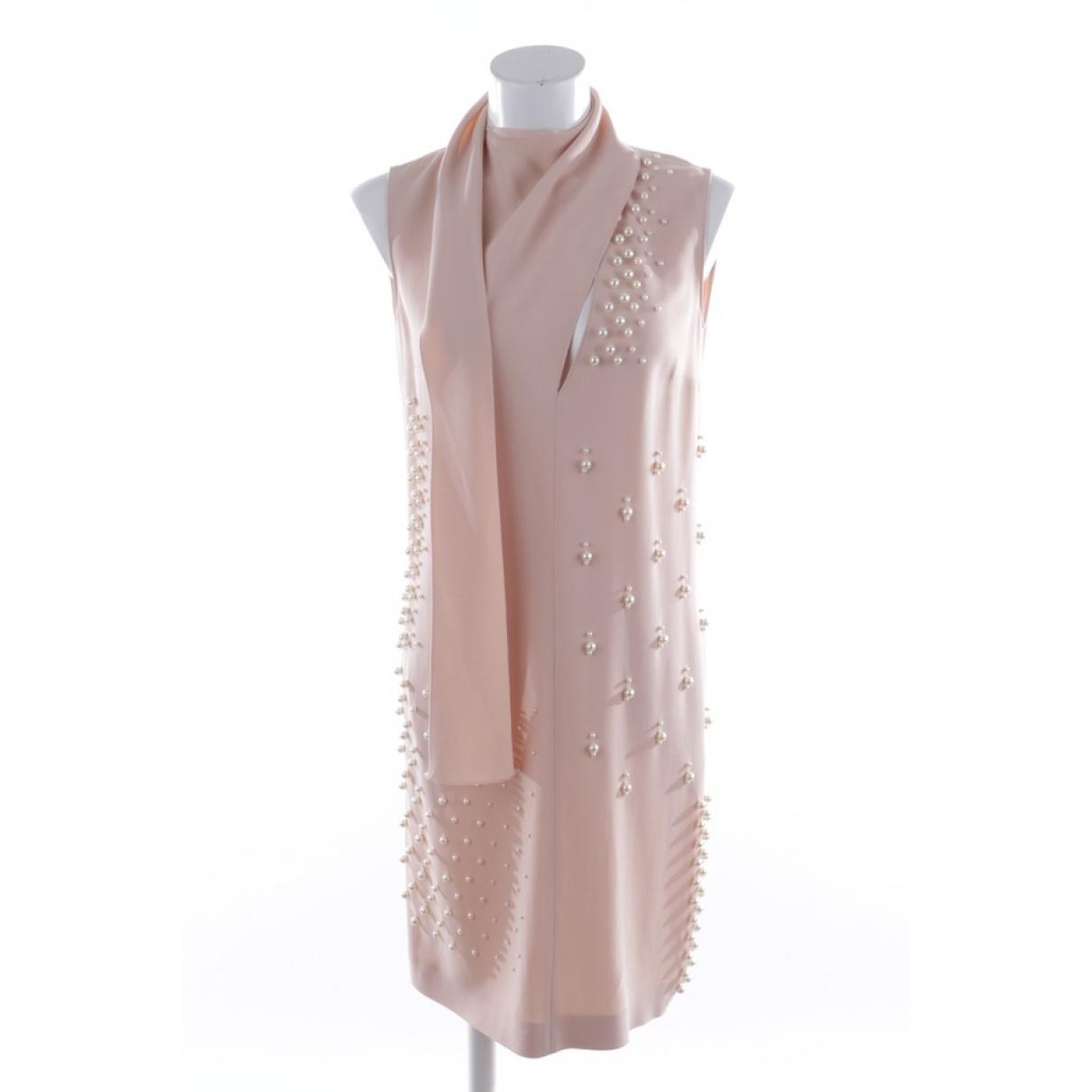 Stella Mccartney \N Kleid in  Rot Polyester