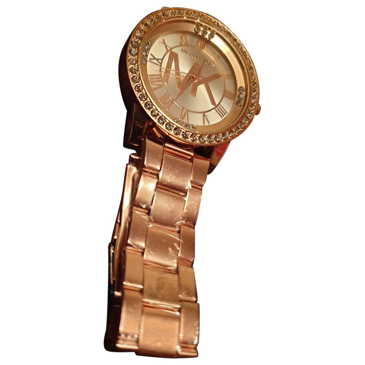 Michael Kors \N Pink Steel watch for Women \N