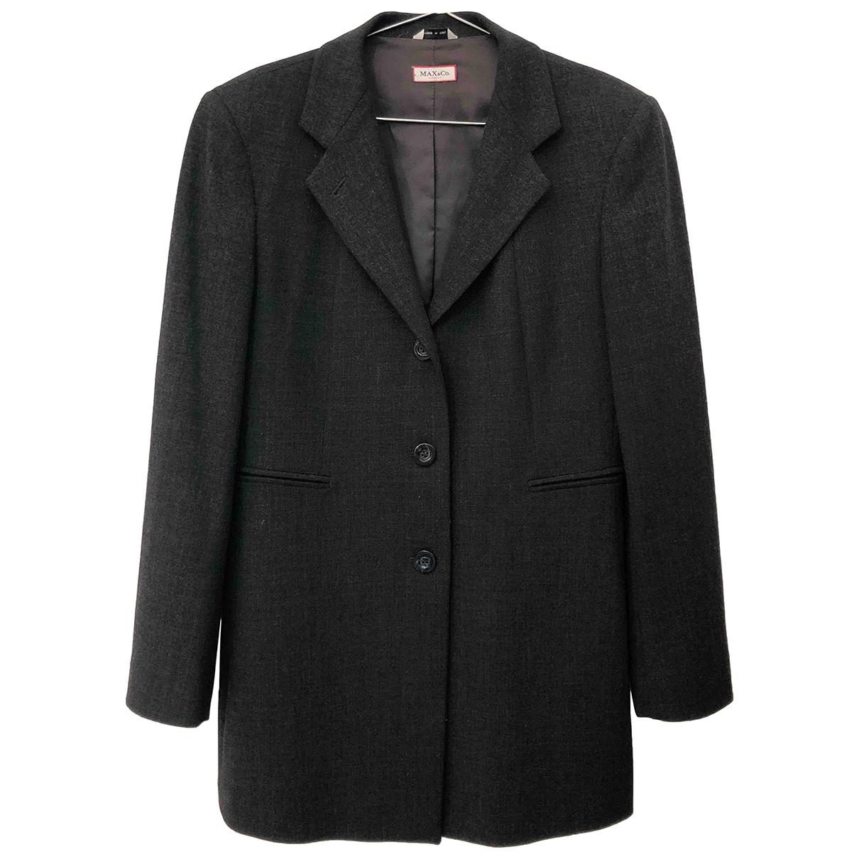Max & Co - Veste   pour femme en laine - gris