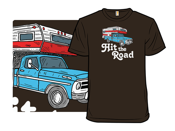 Hit The Road T Shirt