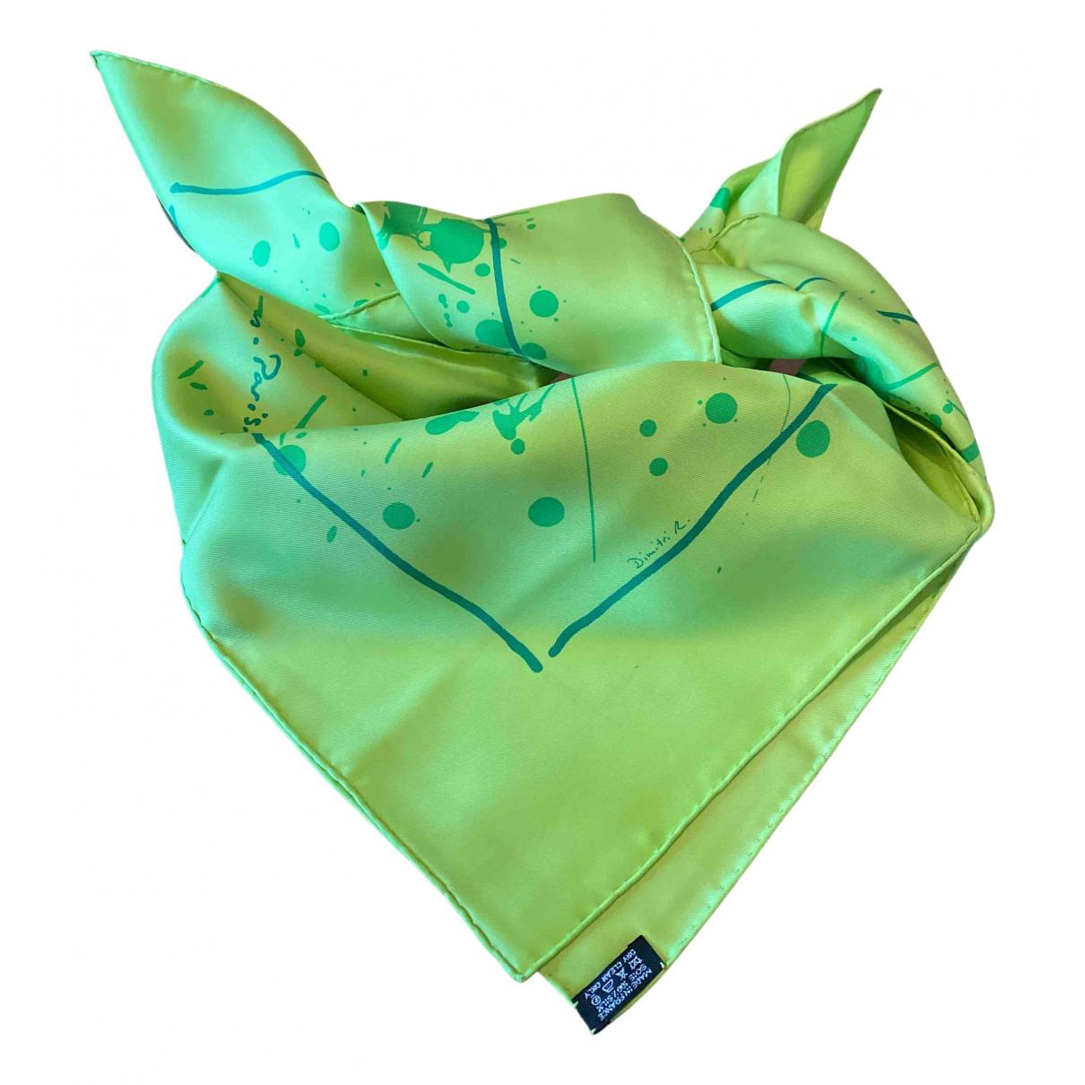 Hermès Carré 90 Green Silk Silk handkerchief for Women N