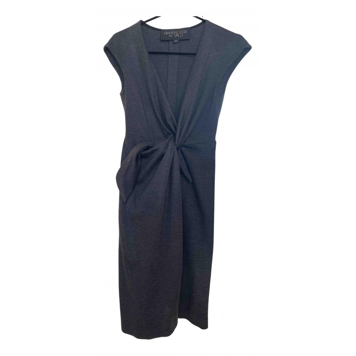 Giambattista Valli N Anthracite Wool dress for Women 40 IT