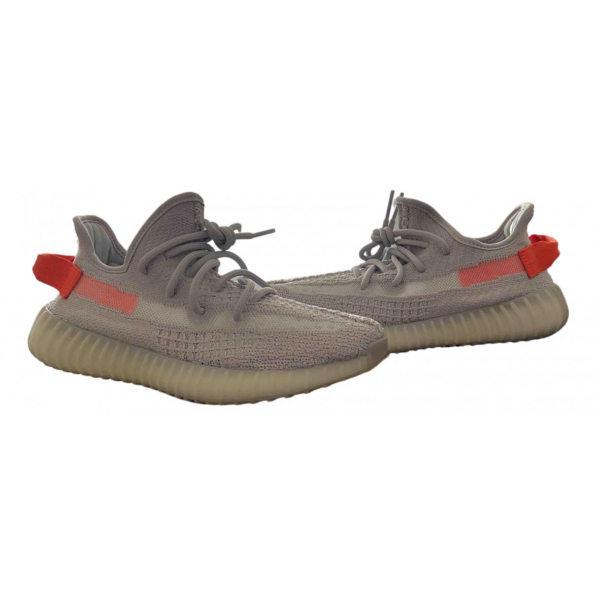 Yeezy X Adidas - Baskets Boost 350 V2 pour femme en toile - gris