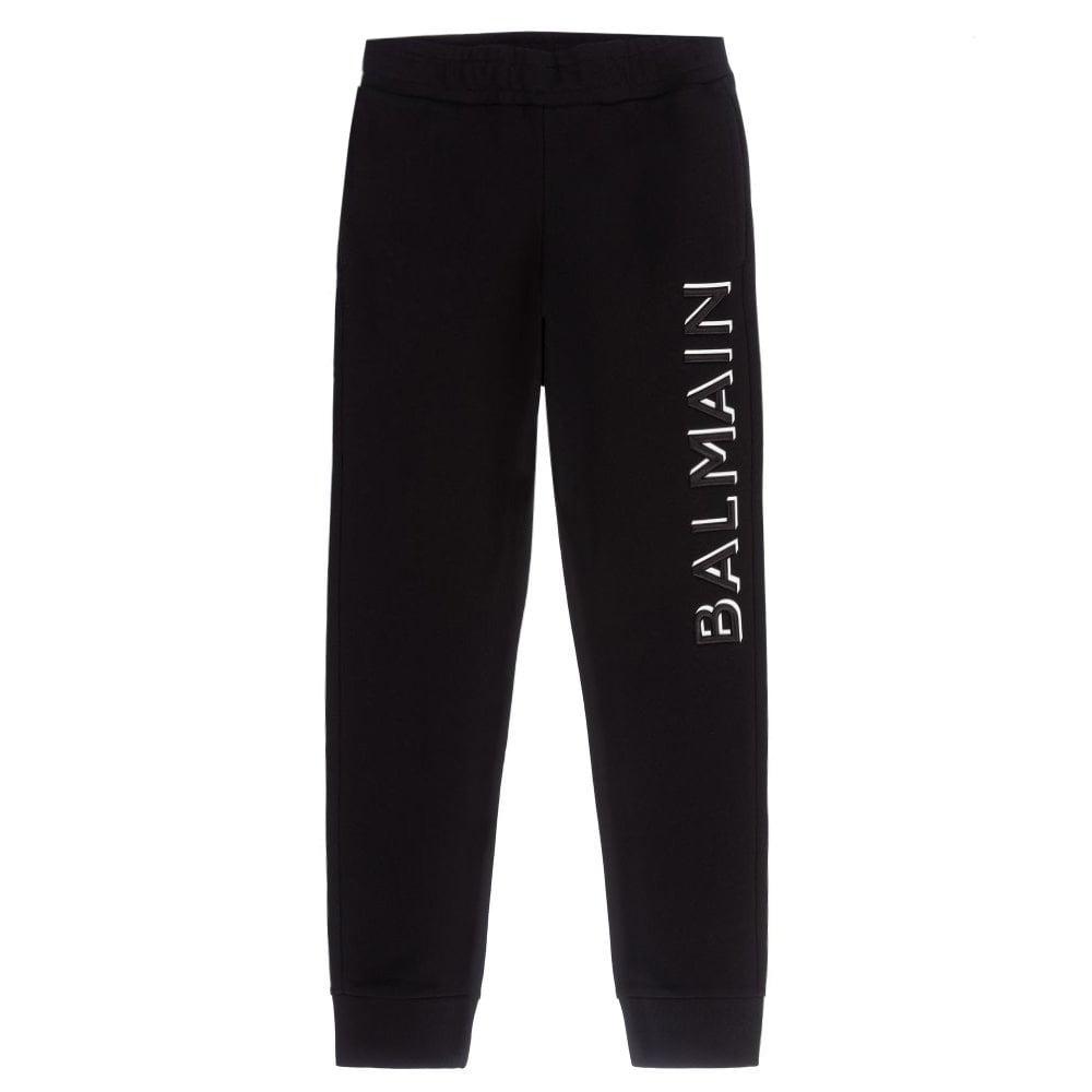 Balmain Joggers Colour: BLACK, Size: 8 YEARS