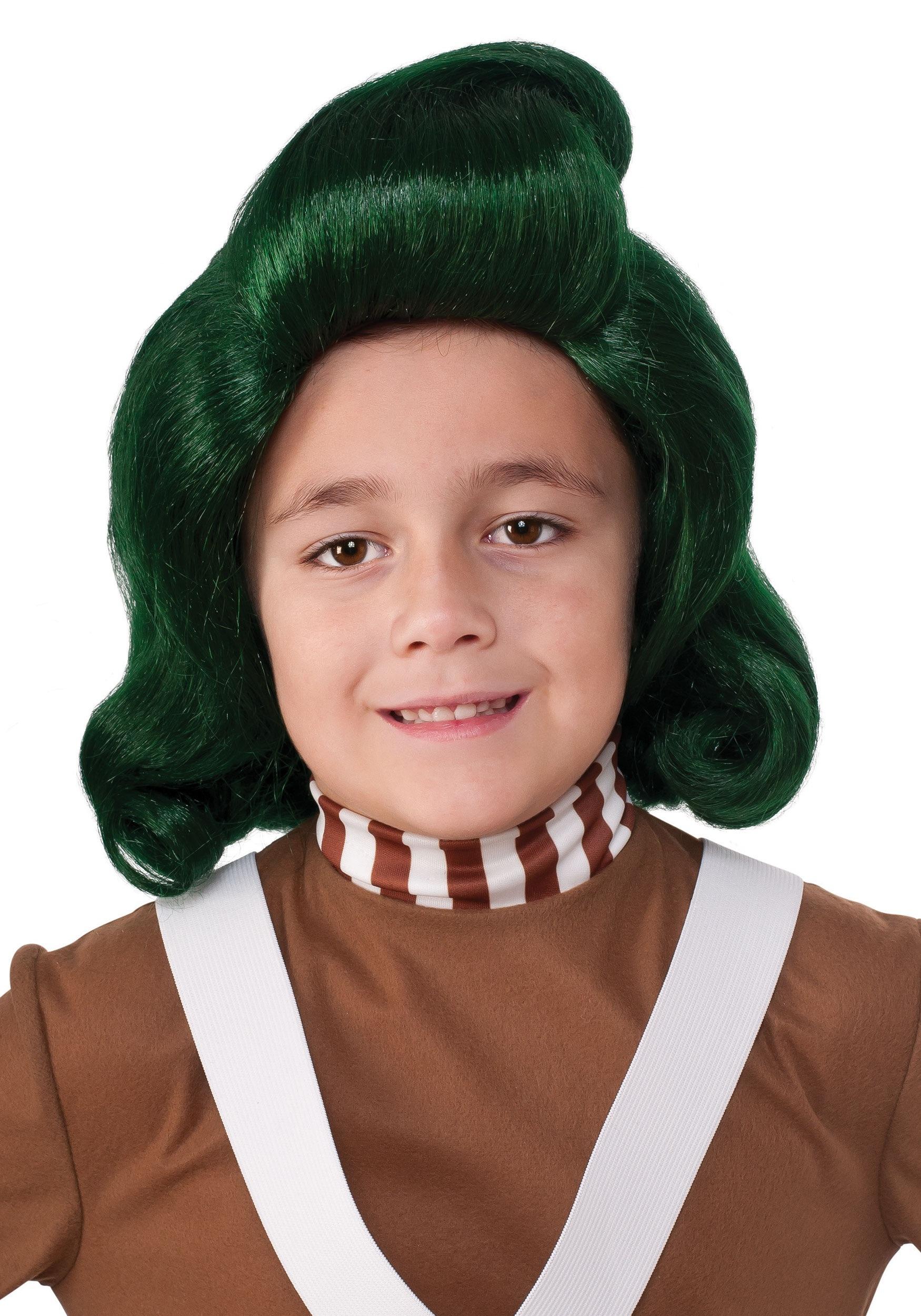 Kids Oompa Loompa Wig