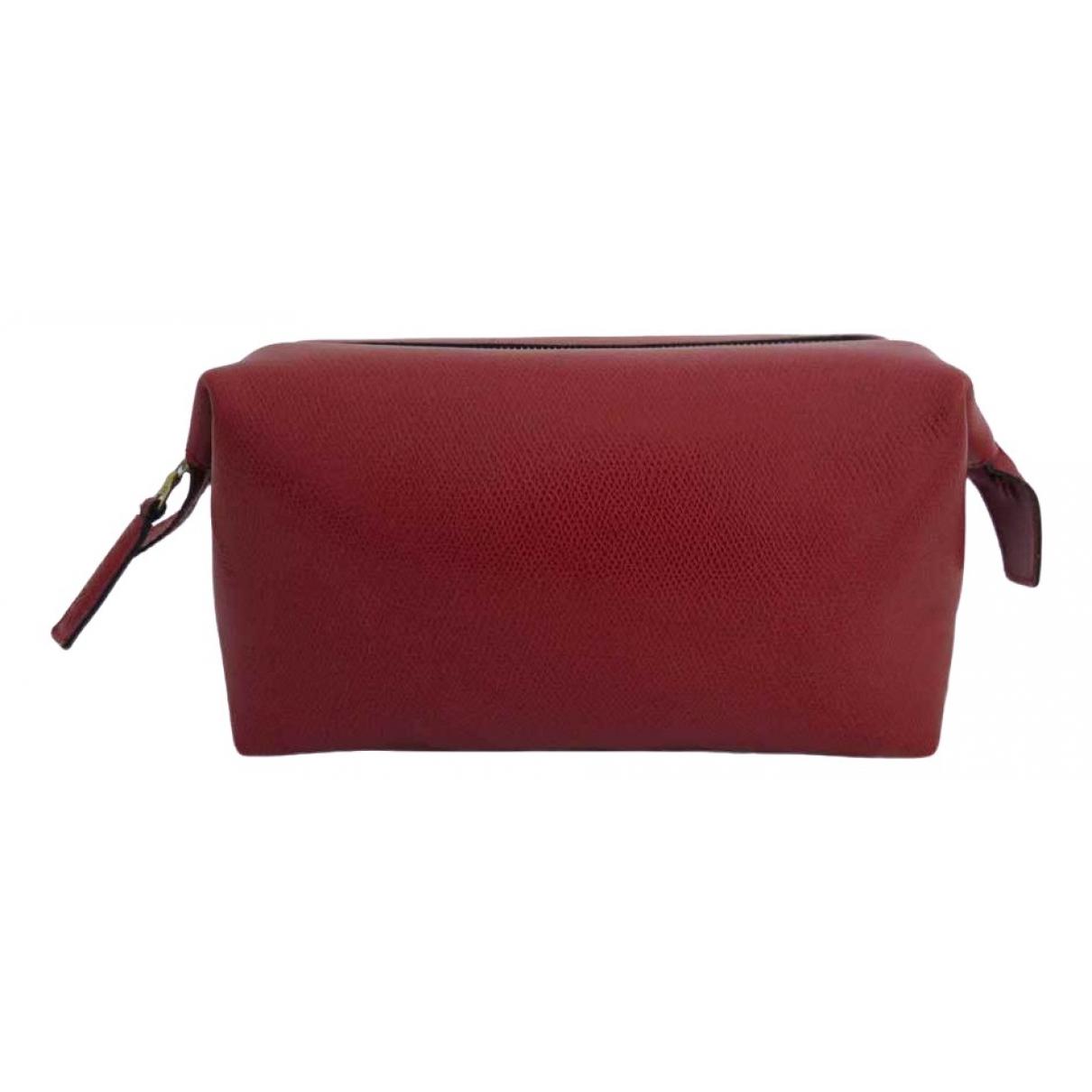 Celine \N Red Leather Travel bag for Women \N