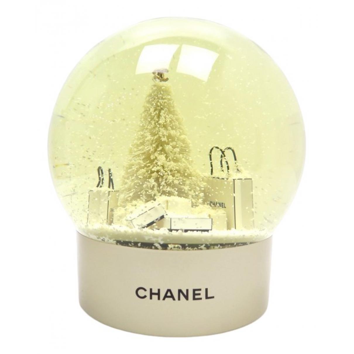 Chanel - Objets & Deco   pour lifestyle en verre - blanc