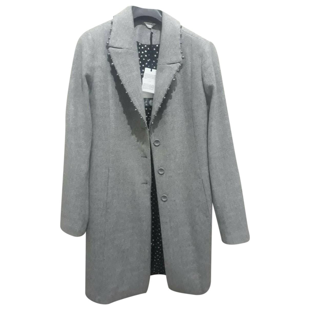 Liu.jo - Manteau   pour femme - gris