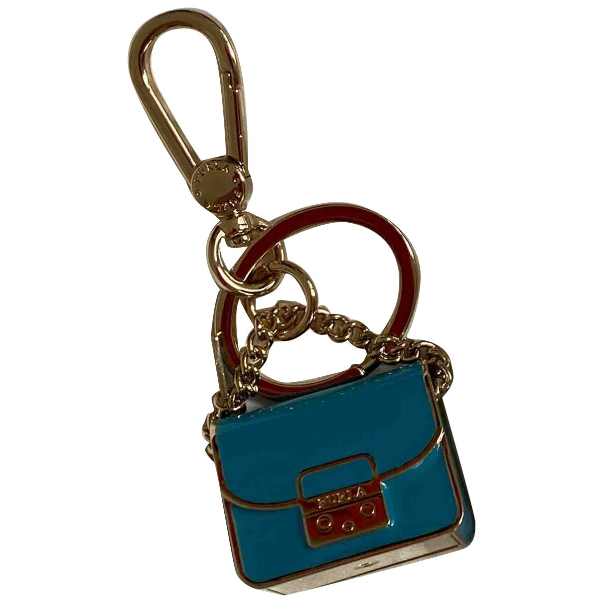 Furla \N Taschenschmuck in  Blau Metall