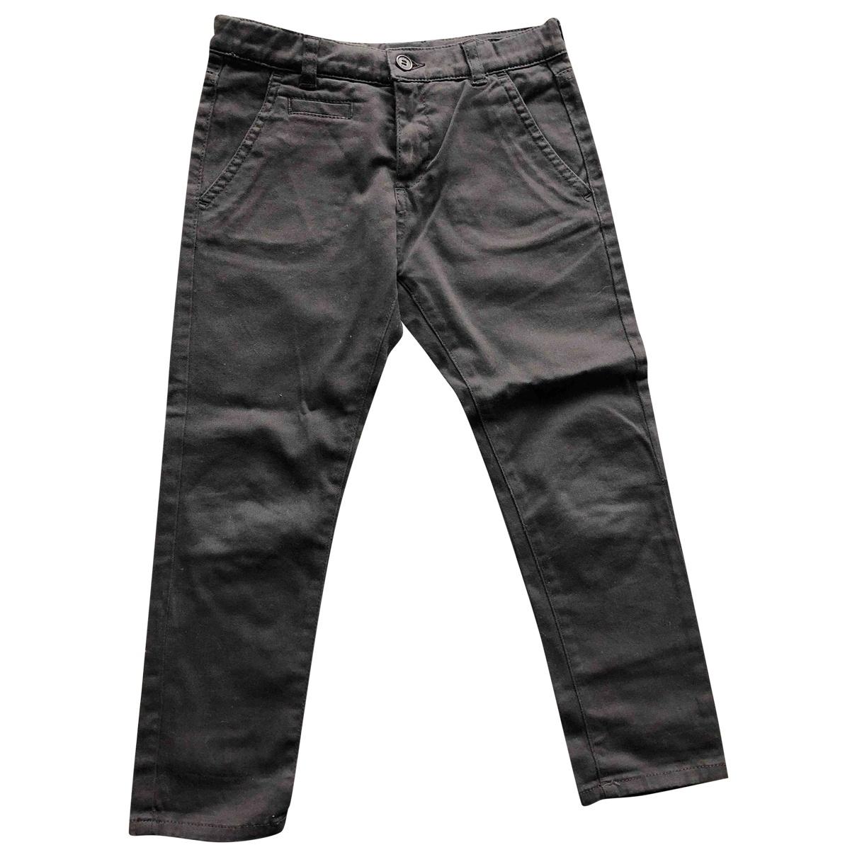Douuod - Pantalon   pour enfant en coton - marron
