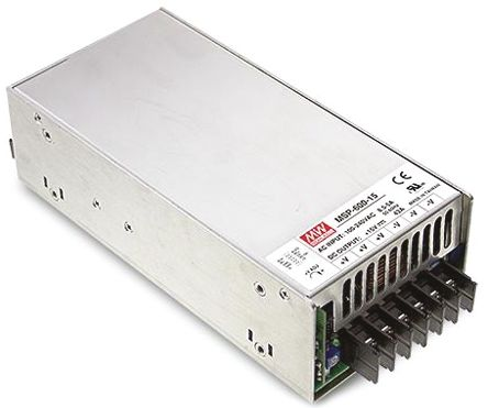 Mean Well , 636W Embedded Switch Mode Power Supply SMPS, 12V dc, Enclosed, Medical Approved