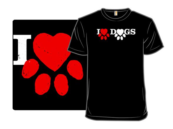 I Love Dogs Ii T Shirt