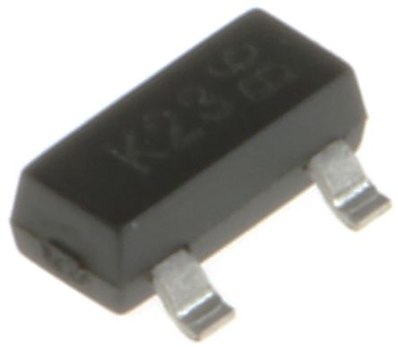 DiodesZetex N-Channel MOSFET, 170 mA, 100 V, 3-Pin SOT-23 Diodes Inc BSS123-7-F (100)