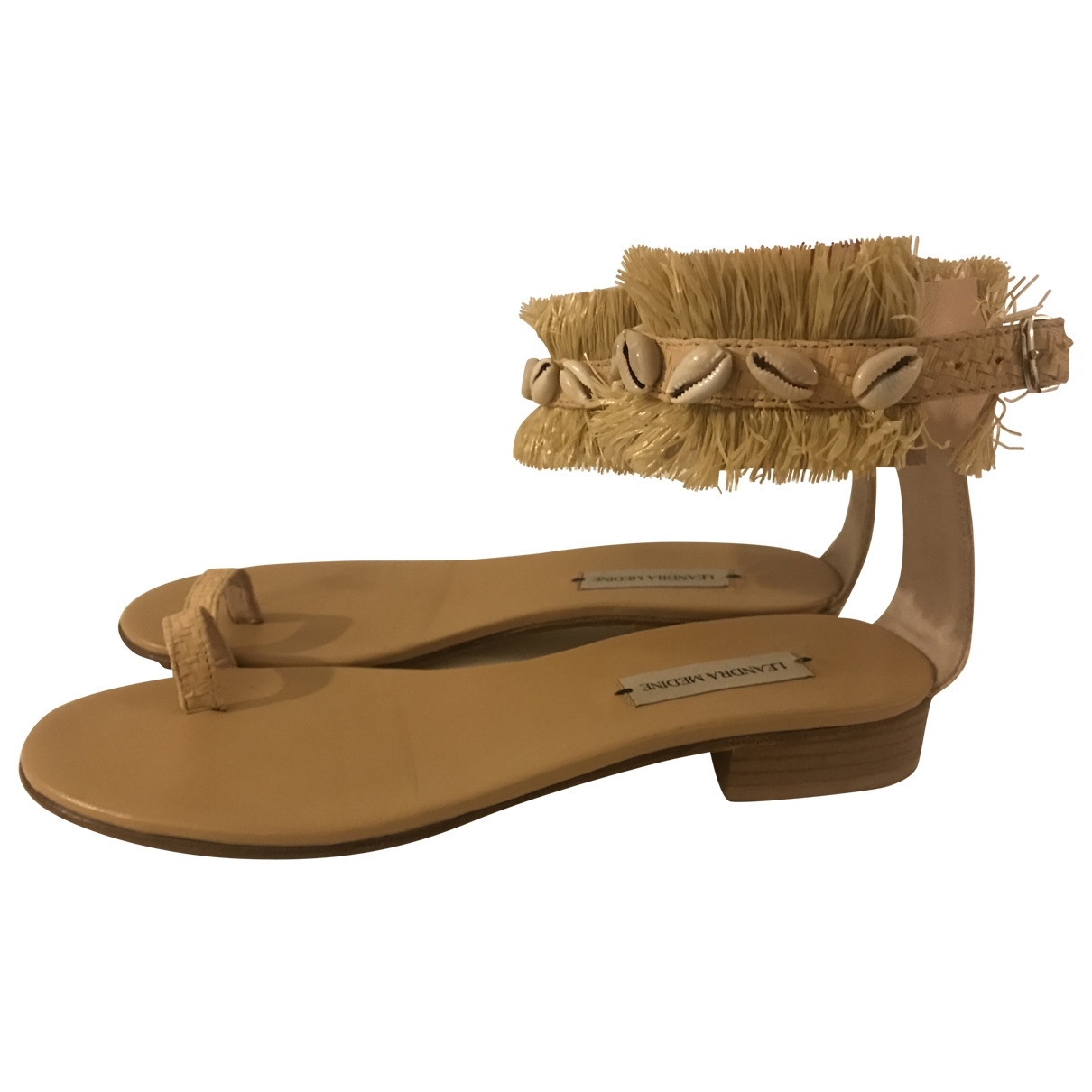 Sandalias romanas Hippie Chic de Lona Non Signe / Unsigned