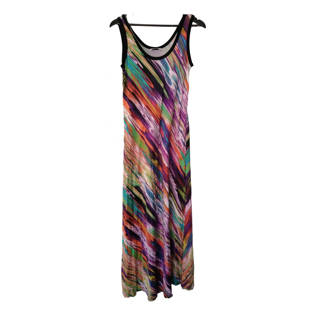 Calvin Klein \N Kleid in  Bunt Baumwolle - Elasthan