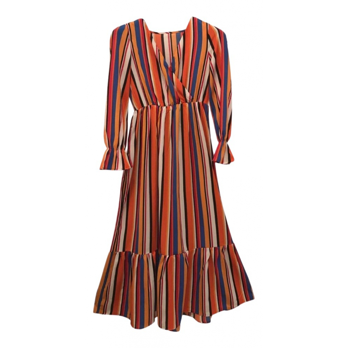 Non Signé / Unsigned Hippie Chic dress for Women 42 IT