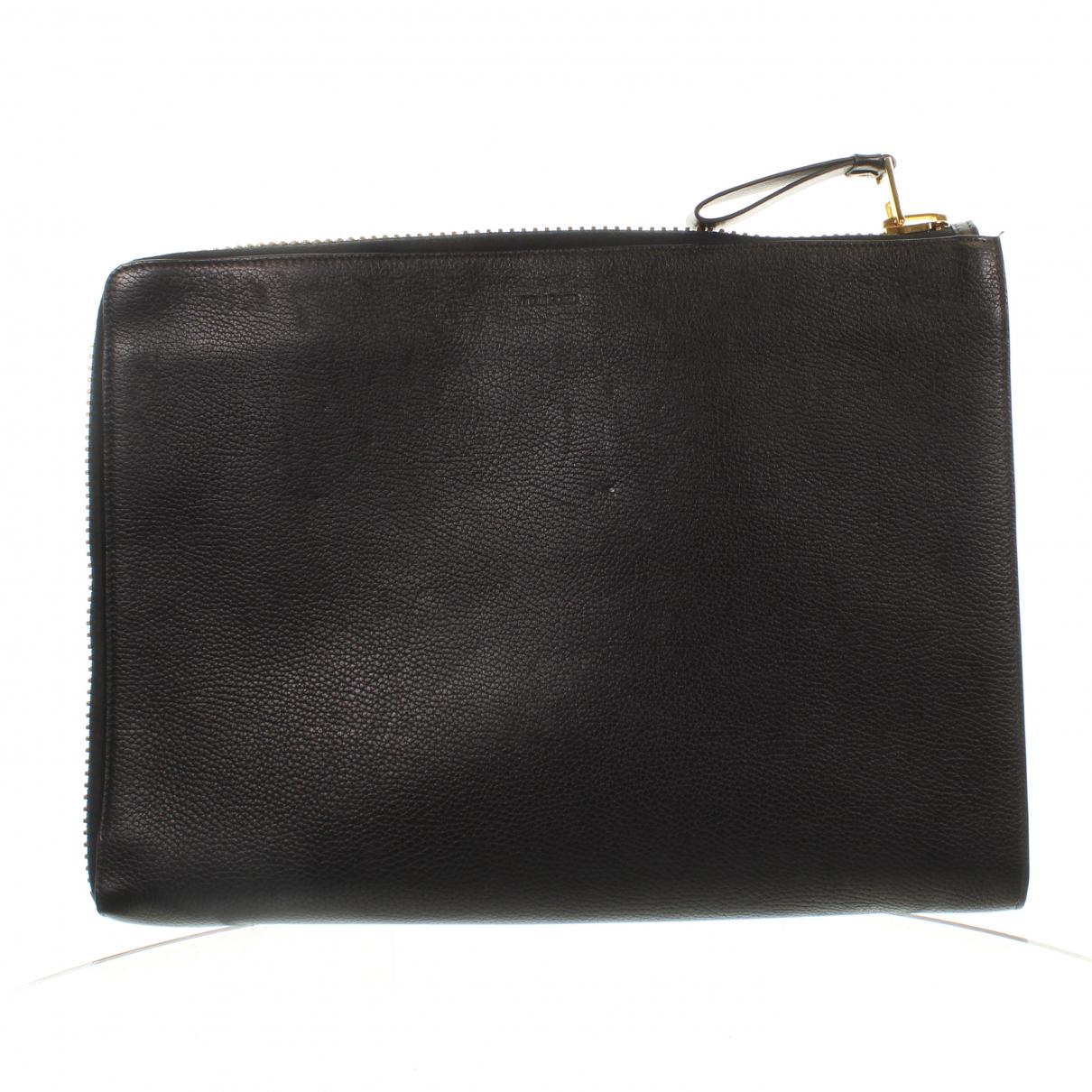 Tom Ford \N Handtasche in  Schwarz Leder