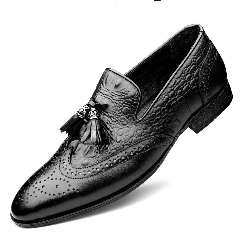 Ericdress Slip-On Customized Round Toe Vintage Men's Oxfords