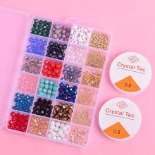 Maedchen Schmuck Set mit bunten Perlen