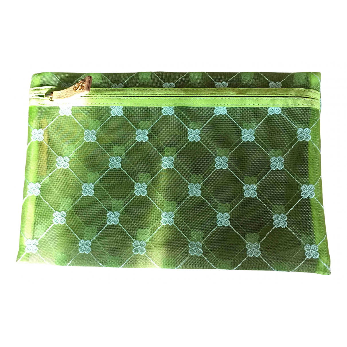 Cruciani \N Clutch in  Gruen Synthetik
