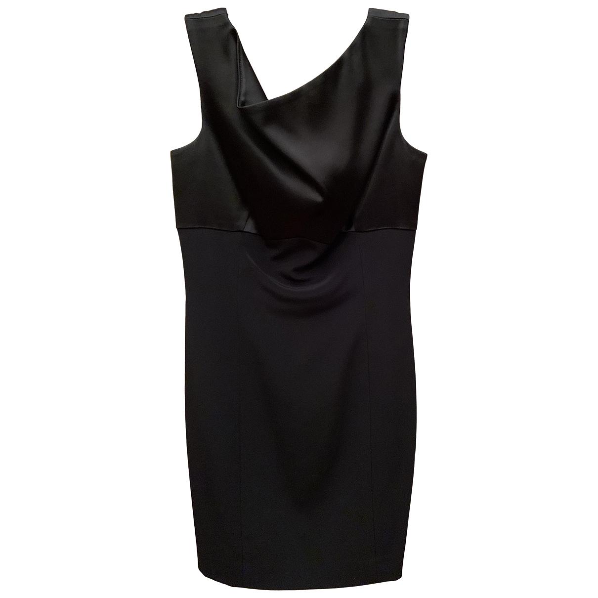 Elie Tahari \N Kleid in  Schwarz Seide