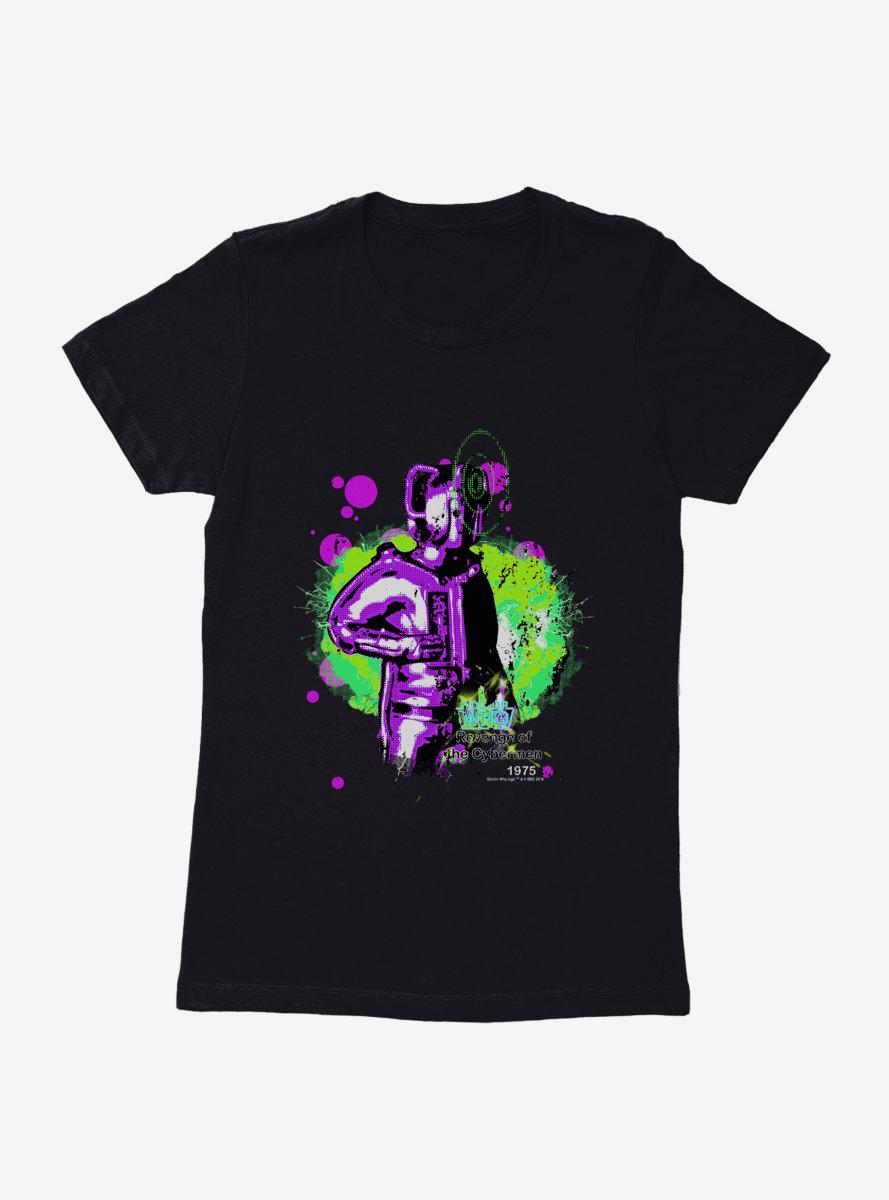 Doctor Who Revenge Of The Cybermen Womens T-Shirt