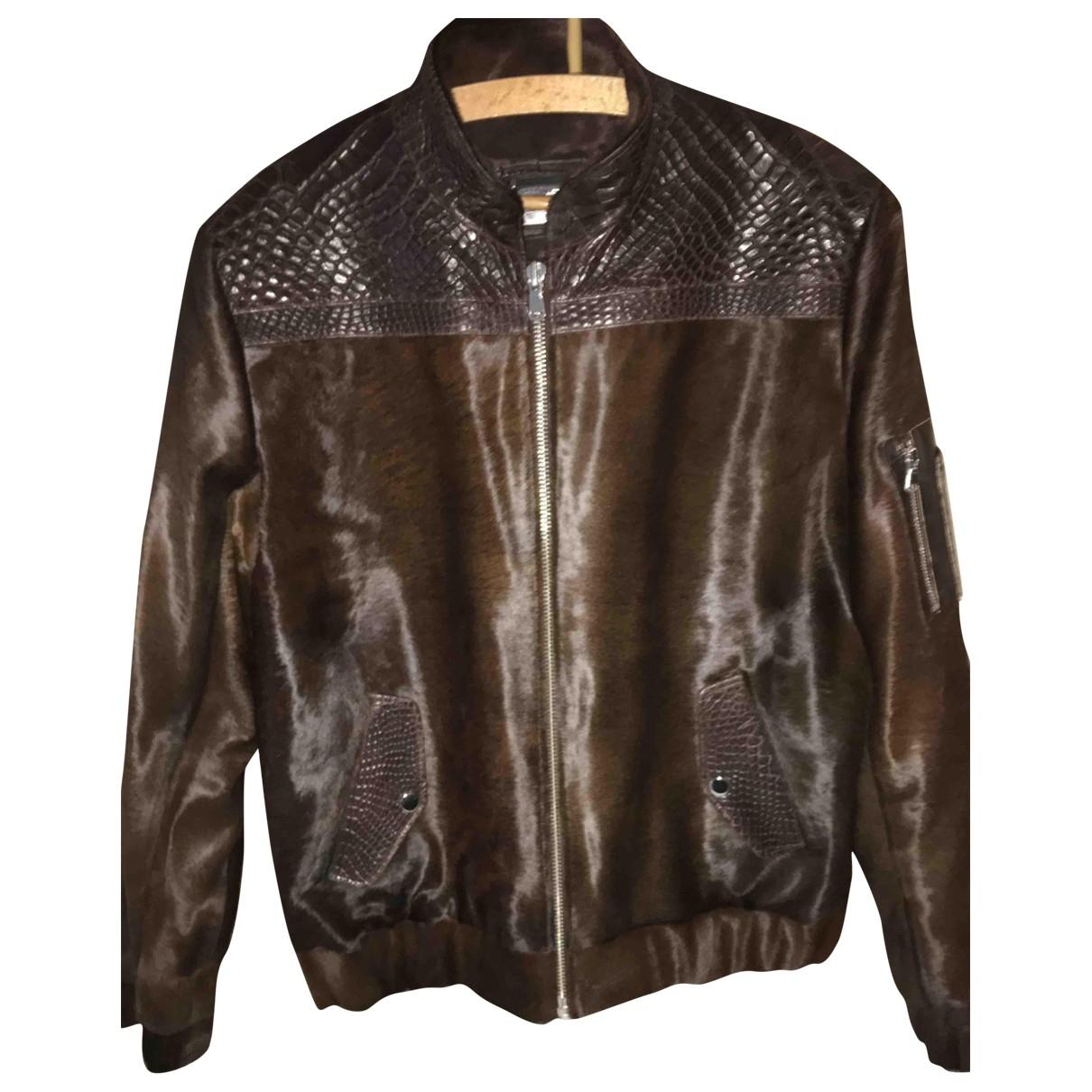Non Signé / Unsigned \N Crocodile jacket  for Men L International