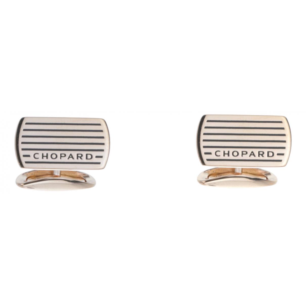 Chopard - Boutons de manchette   pour homme en acier - multicolore
