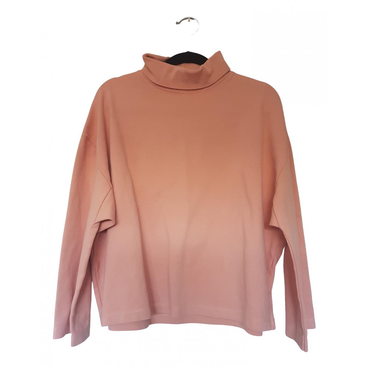 Acne Studios \N Pink Cotton Knitwear for Women 36 FR