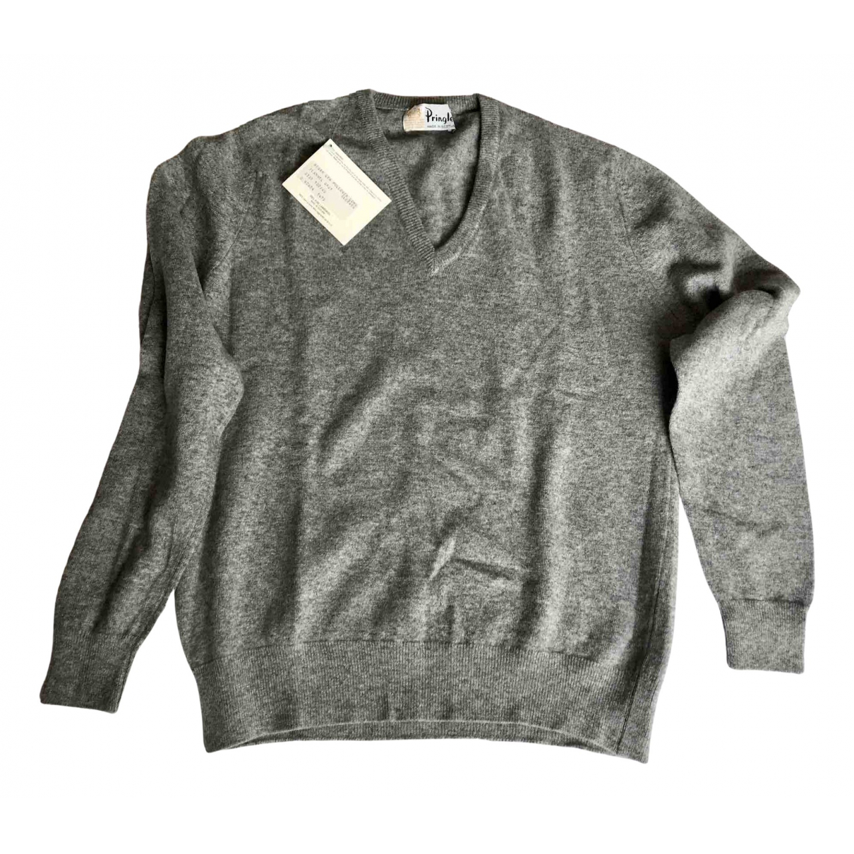 Pringle Of Scotland \N Pullover in  Grau Wolle