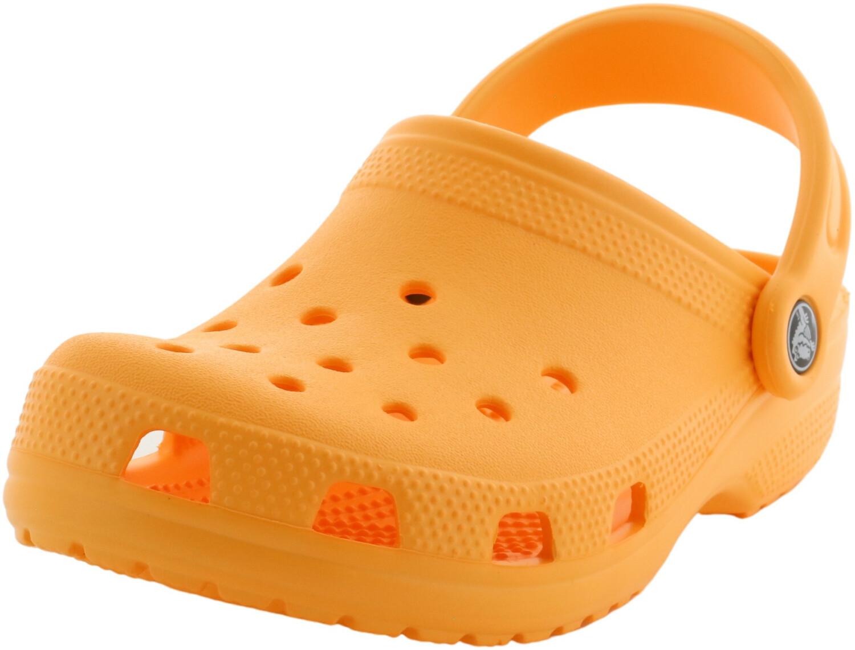 Crocs Classic Cantaloupe Ankle-High Flat Shoe - 6W / 4W