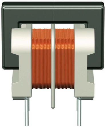 EPCOS 1 mH -30 → +50% Ferrite Common Mode Choke, Max SRF:10kHz, 1.6A Idc, 160mΩ Rdc, B82730U (3)