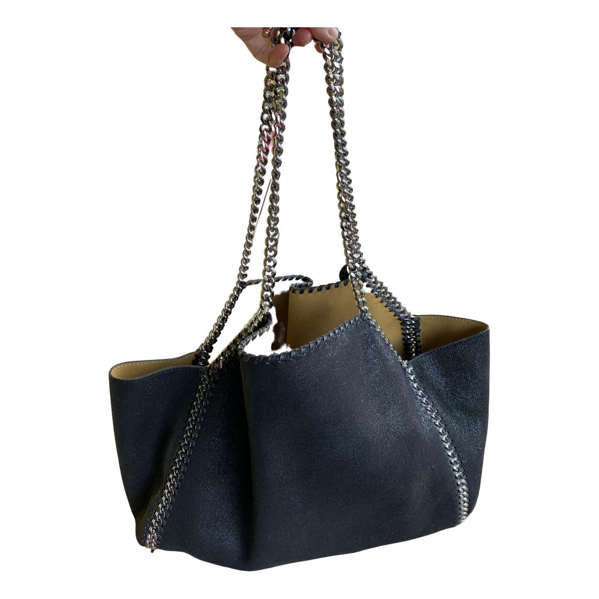 Stella Mccartney Falabella Box Black Cloth handbag for Women N