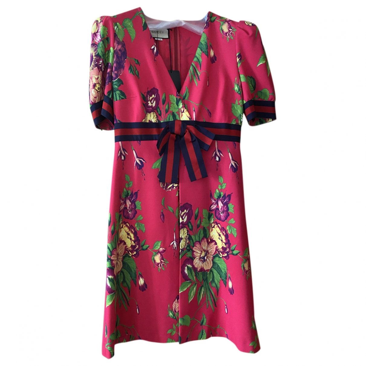Gucci \N Pink Cotton - elasthane dress for Women L International