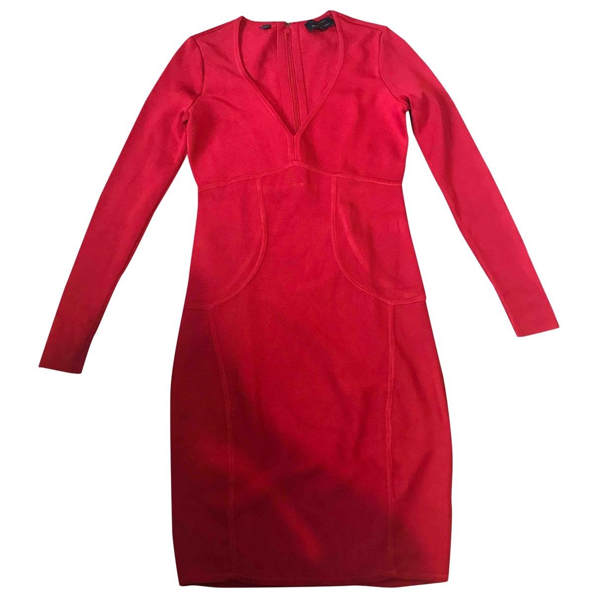 Ted Baker \N Kleid in  Rot Viskose
