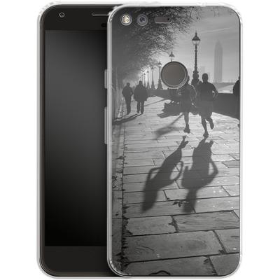 Google Pixel Silikon Handyhuelle - Walk If You Must von Ronya Galka